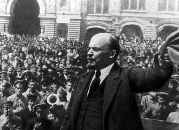 Ленин во время революции