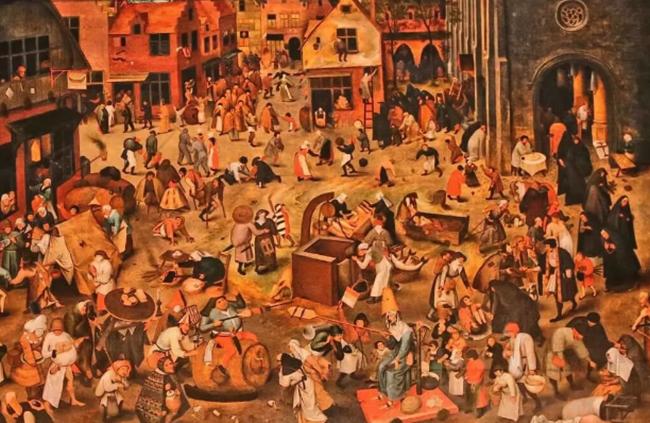 Люди в Европе в 16 веке