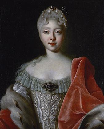 Елизавета Петровна в молодости