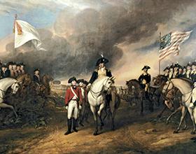 Основные события войны за независимость США