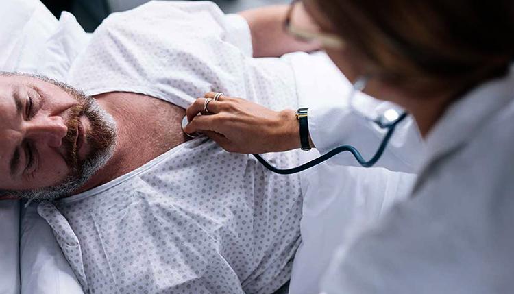 Осложнение после сжатия легких