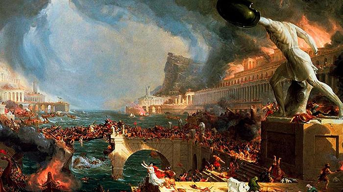 Разрушение Западной Римской империи