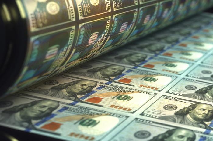 Печатание долларов