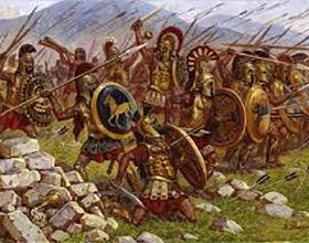 Основные события пелопоннесской войны