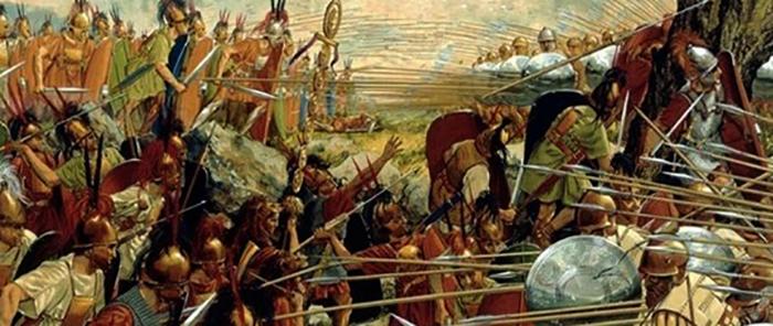 Сражение во время пелопоннесской войны
