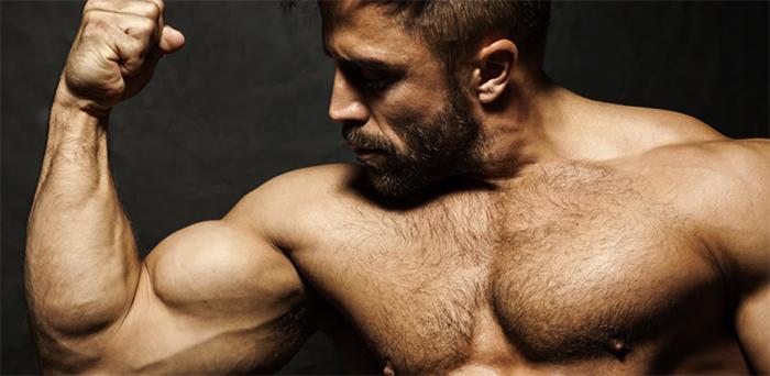 Мужчина с высоким тестостероном