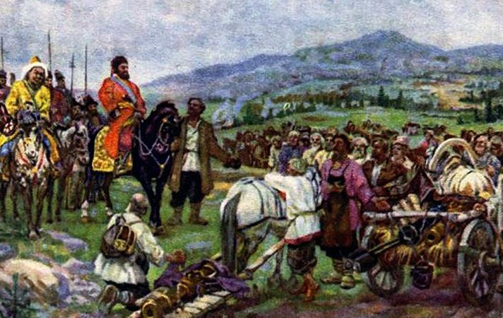 Пугачев с войском