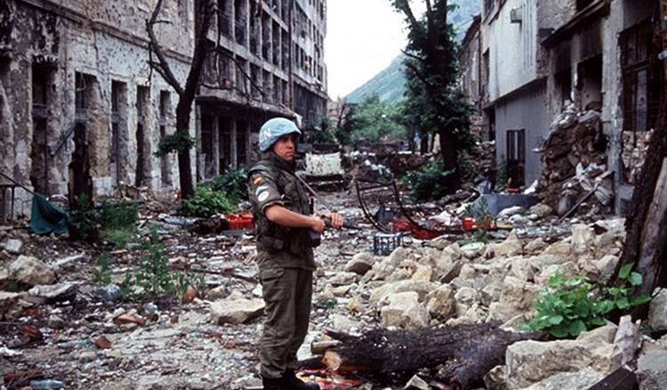 Разрушения  Югославии