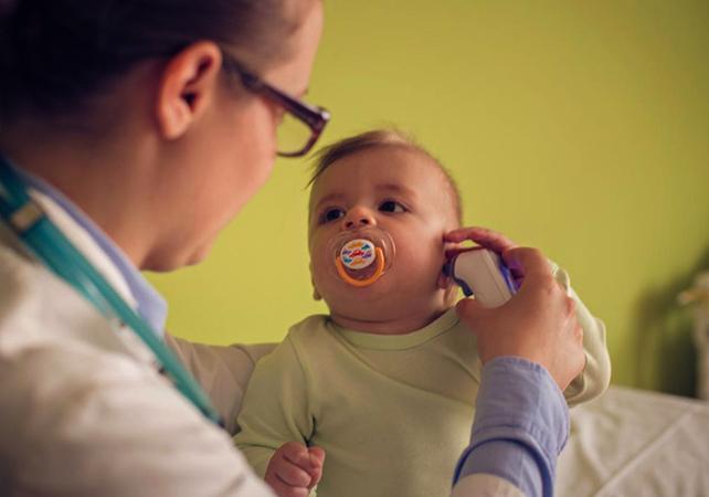 Ребенок, перенесший пневмонию