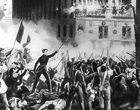 Основные события июльской революции 1830 г