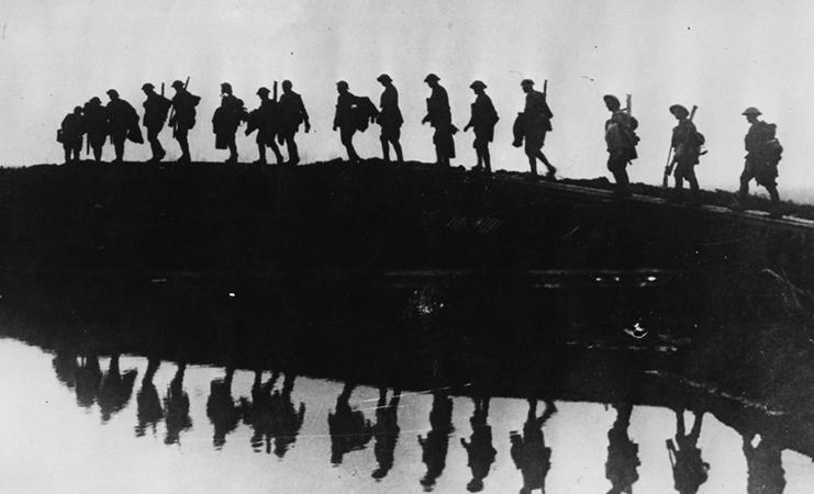 Солдаты перед Первой мировой войной