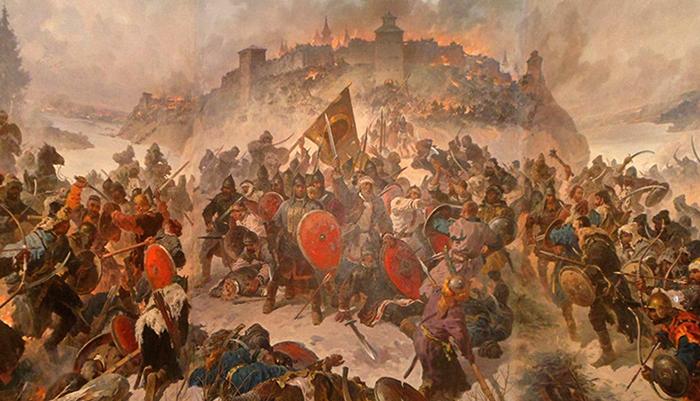Сражение с татаро-монголами