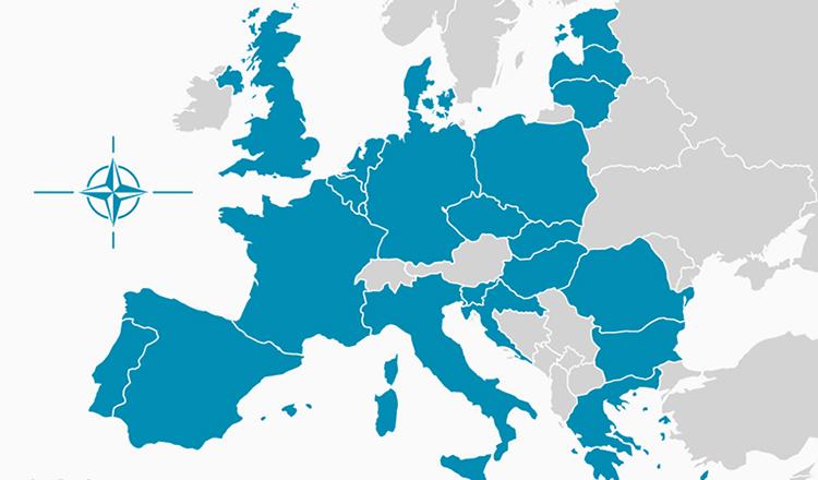 Страны ЕС и НАТО