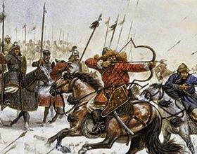 Основные события монголо-татарского нашествия на Русь