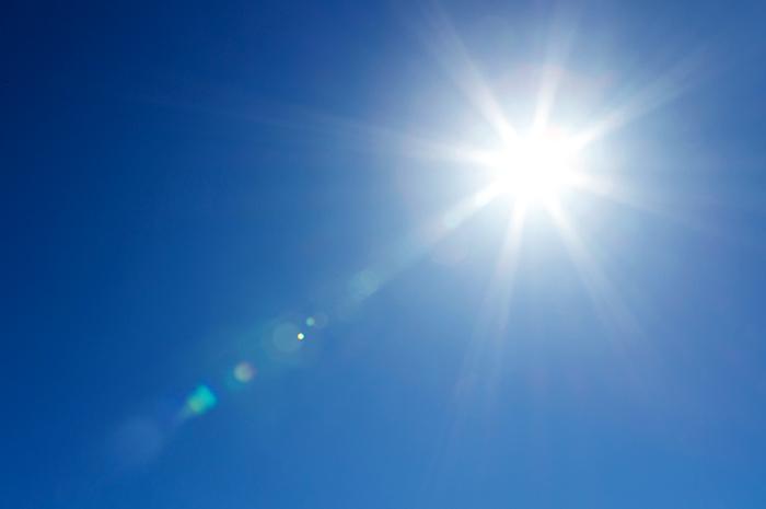 Ультрафиолетовое излучение от солнца