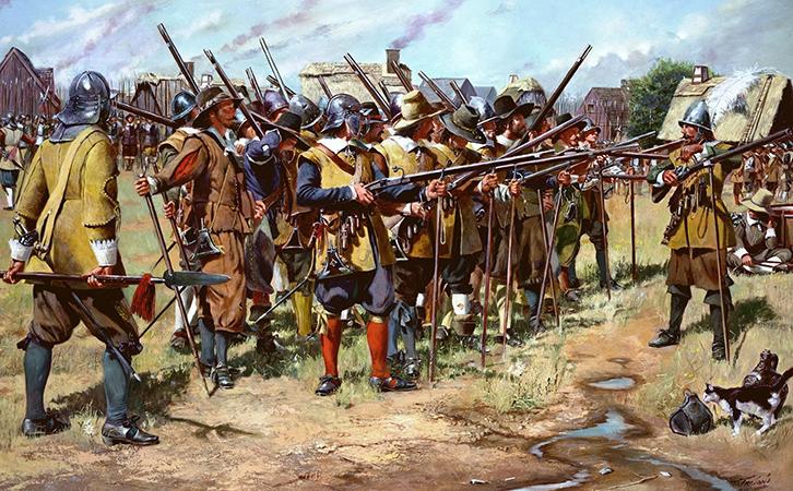 Войска во время тридцатилетней войны