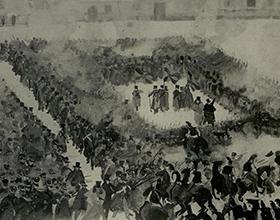Основные события восстания декабристов 1825 года