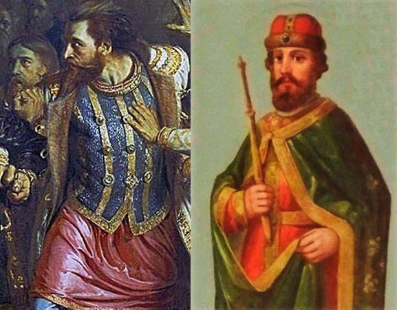 Василий Юрьевич (Косой) и Дмитрий Юрьевич (Шемяка)