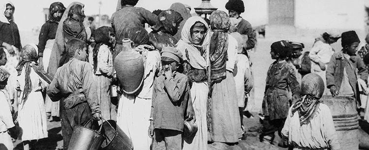 Армянские люди во время геноцида