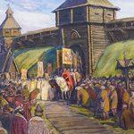Основные события из истории Новгородского княжества