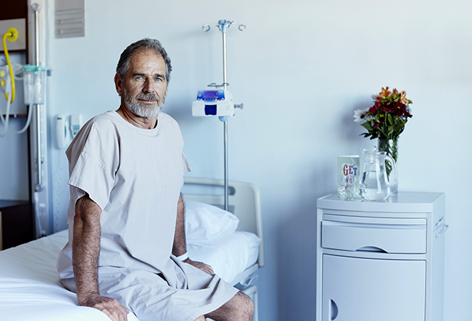 Пациент после удаления почки
