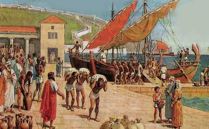 Прибытие греков