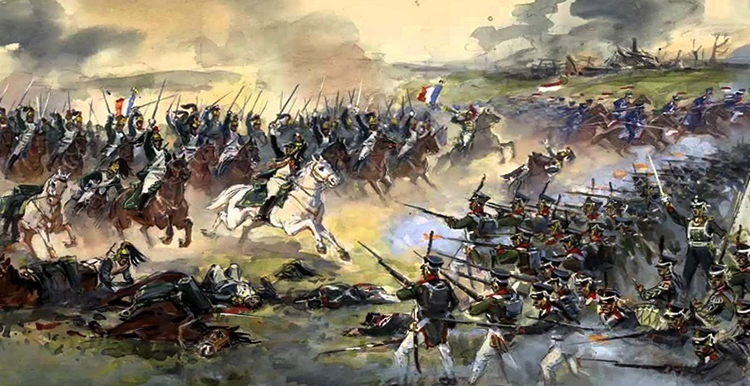 Во время отечественной войны 1812