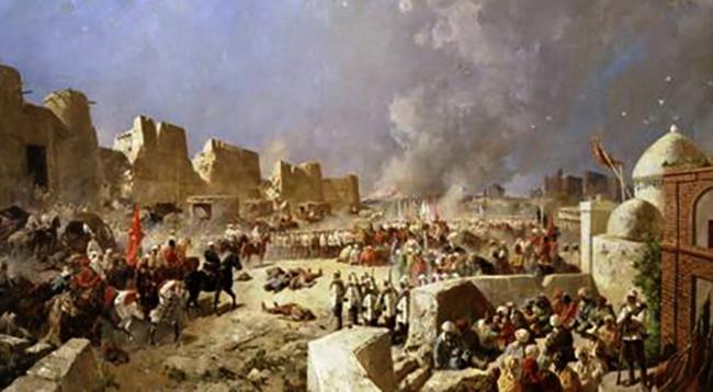 Во время набега Джунгаров