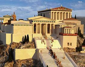 Основные события из истории древней Греции