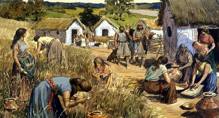Объединенные племена восточных славян