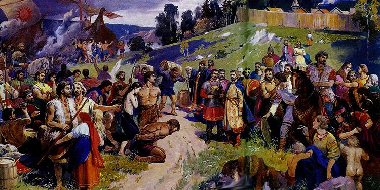 Племена восточных славян